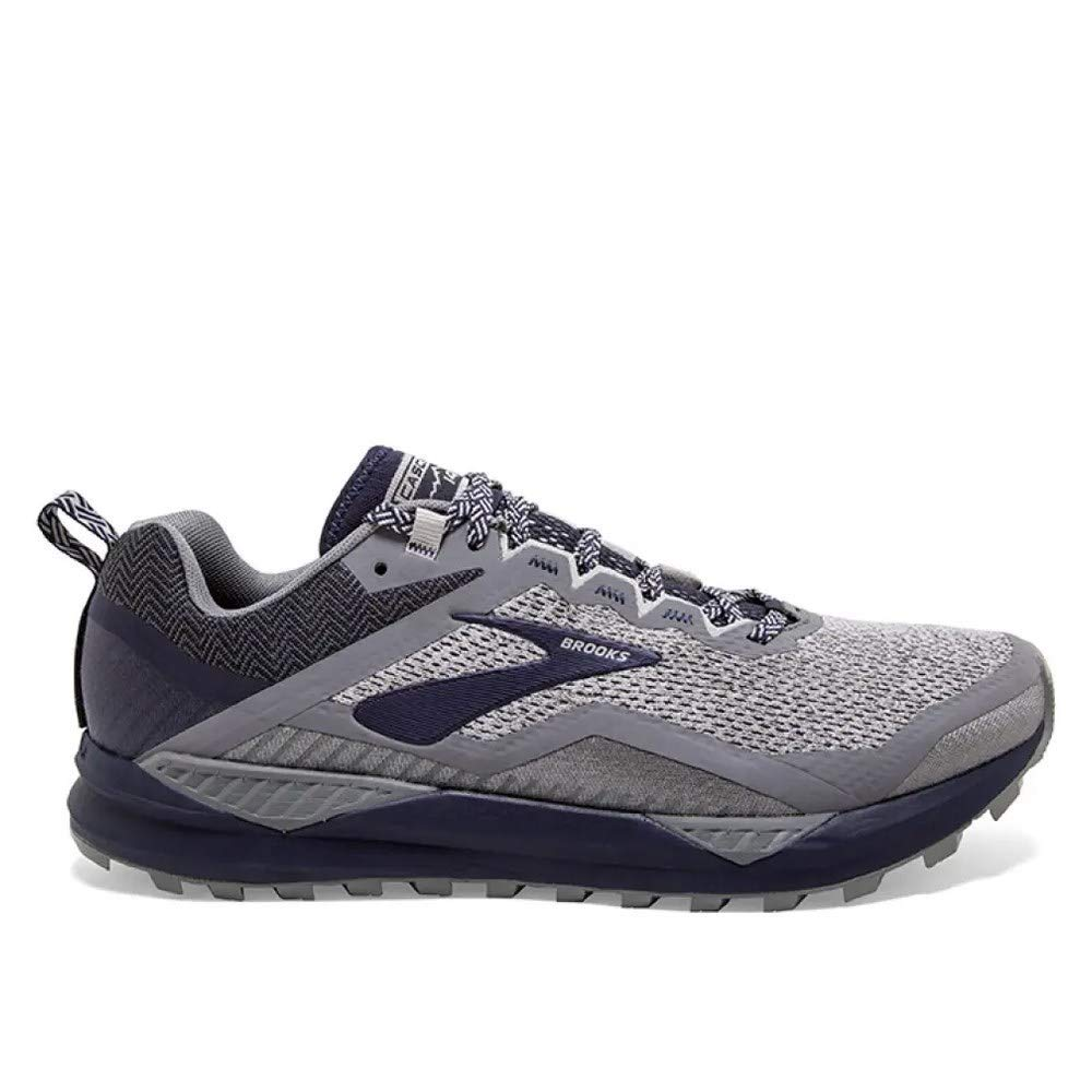 Brooks Men's Cascadia 14 Grey/Navy 10 D US by Brooks