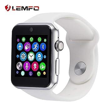 LEMFO LF07 Reloj Inteligente Bluetooth de 1.54 Pulgadas de Pantalla Soporte de la Tarjeta SIM Remoto