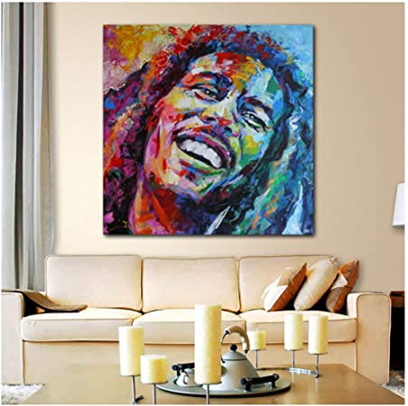 Art HD Print Home Décor Bob Marley Quote Paintings Wall Poster Picture