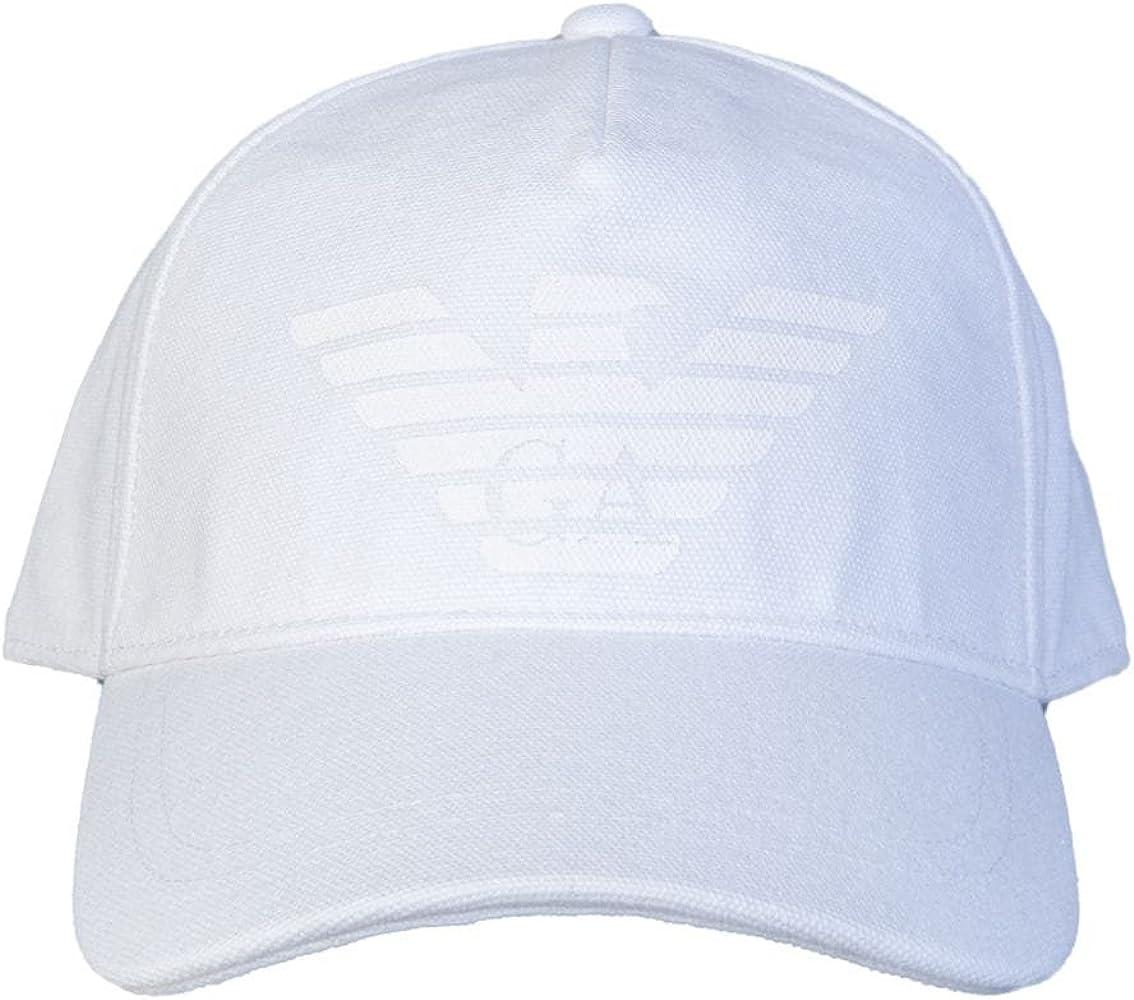 Emporio Armani - Gorra de béisbol - para Hombre Blanco Blanco ...