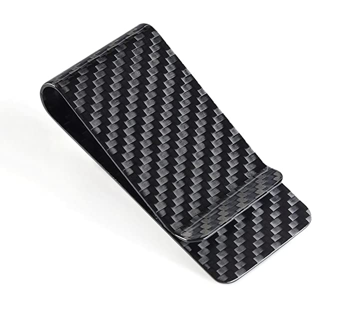 Cl carbonlifetm carbon fiber glossy money clip credit card cl carbonlifetm carbon fiber glossy money clip credit card business card holder black colourmoves
