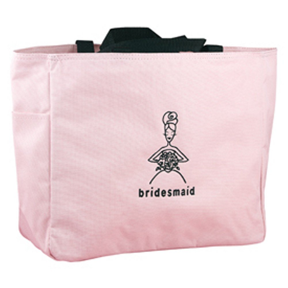 Pink Tote Bag - Bridesmaid -Set of 5