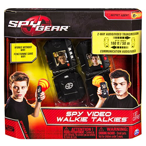 Spy Gear - Video WalkieTalkies - Kid Gadgets