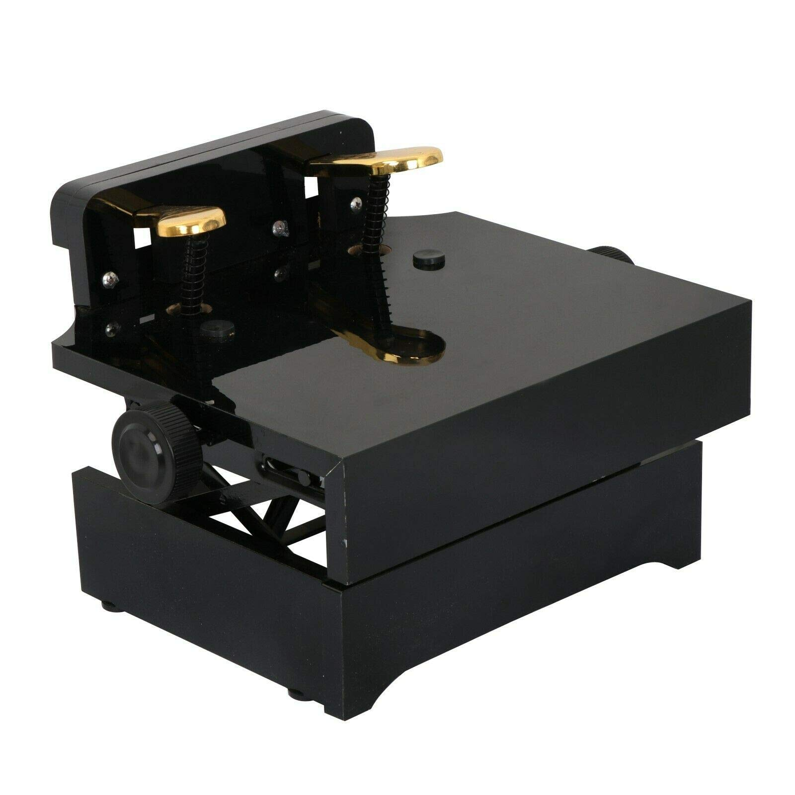 Piano Pedal Extender Dual Deluxe Extension Prop for Beginners Adjustable Height by Unknown