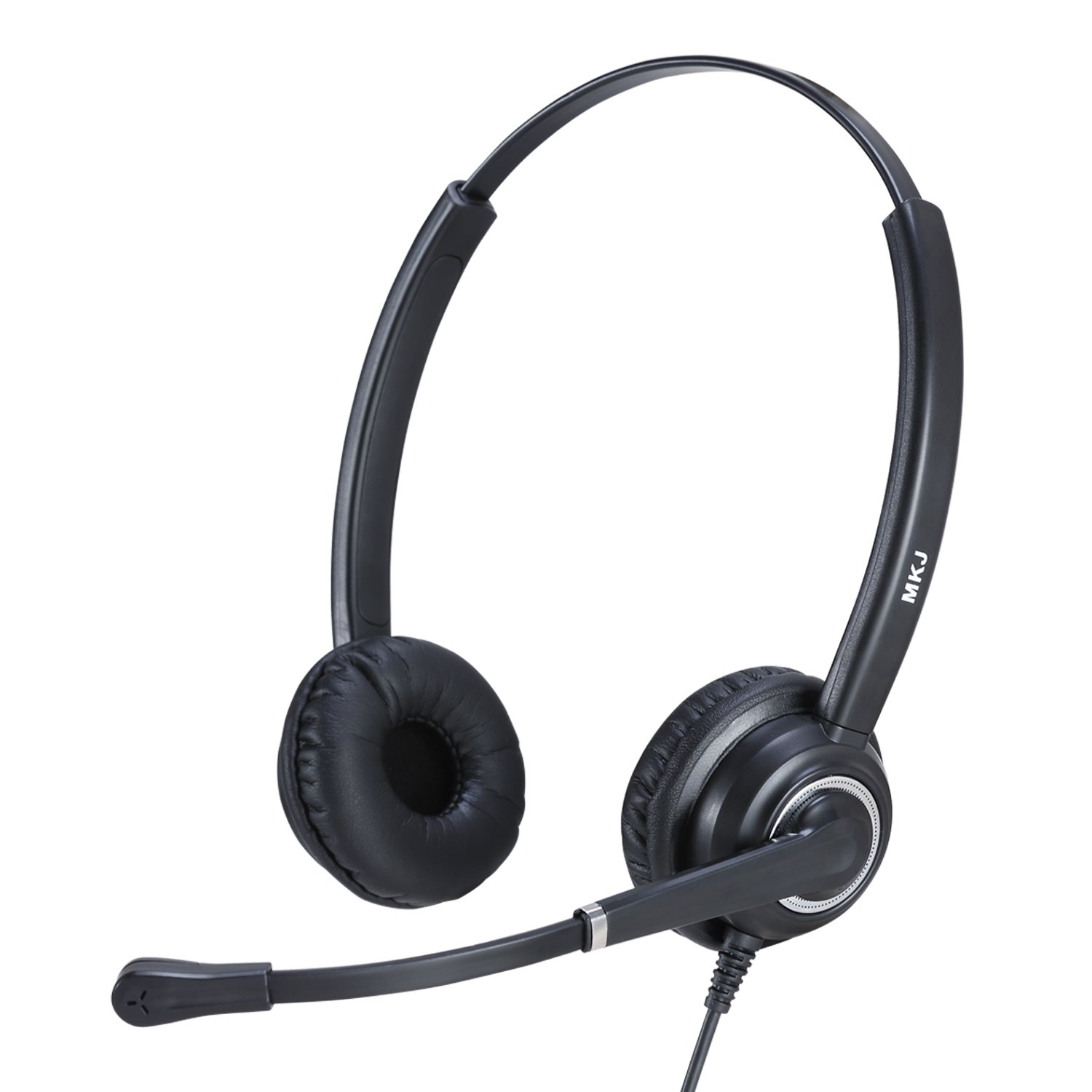 Cisco Headset with RJ9 QD Plug and Noise Cancelling Microphone for Cisco 7931G, 7940, 7941G, 7942G, 7945G, 7960, 7961, 7961G, 7962G, 7965G, 7970