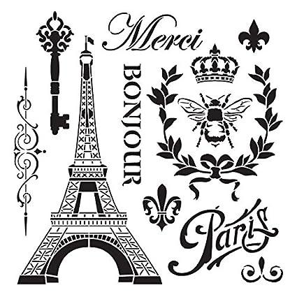 La France Stencil By StudioR12