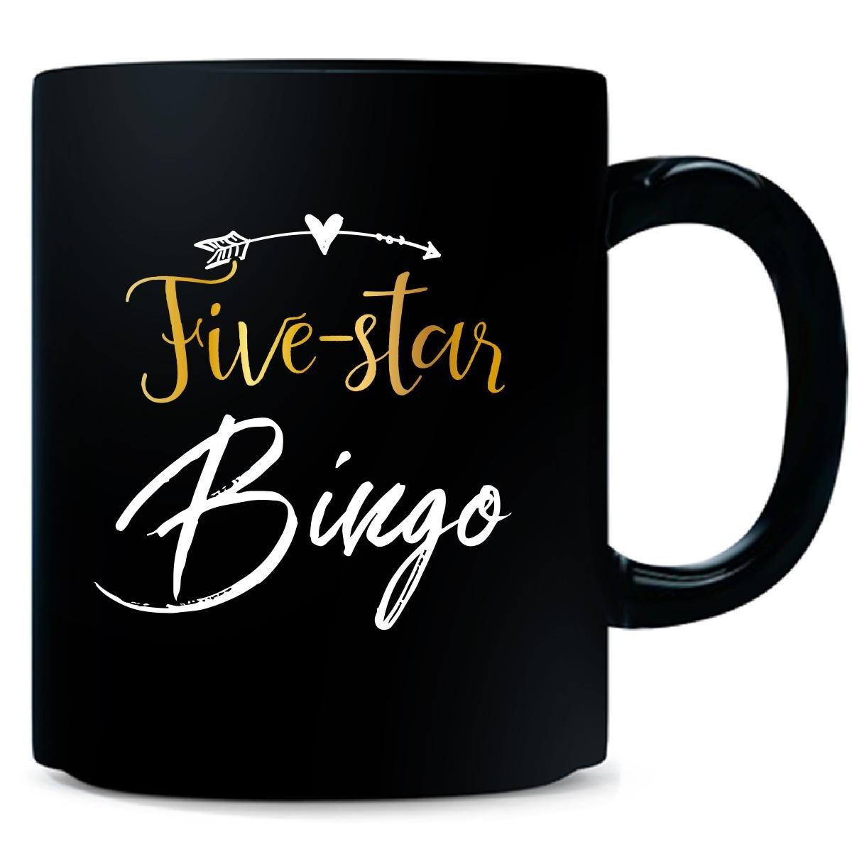 Five Star Bingo Name Mothers Day Present Grandma - Mug