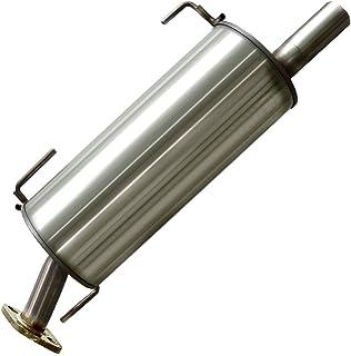 Stainless Steel Rear Muffler fits 2007-2011 Nissan Versa Hatchback 1.8L