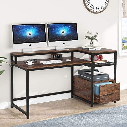 TIYASE Computer Desk - the best modern office desk for the money