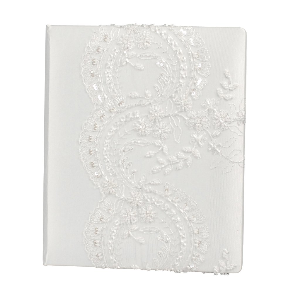 Ivy Lane Design Victorian Collection Memory Book, White by Beverly Clark Collection