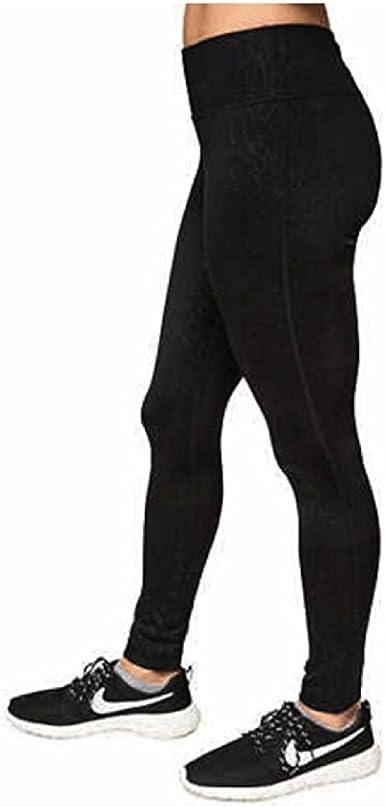 Black Brush, Small Kirkland Signature Ladies Active Design Capri Leggings