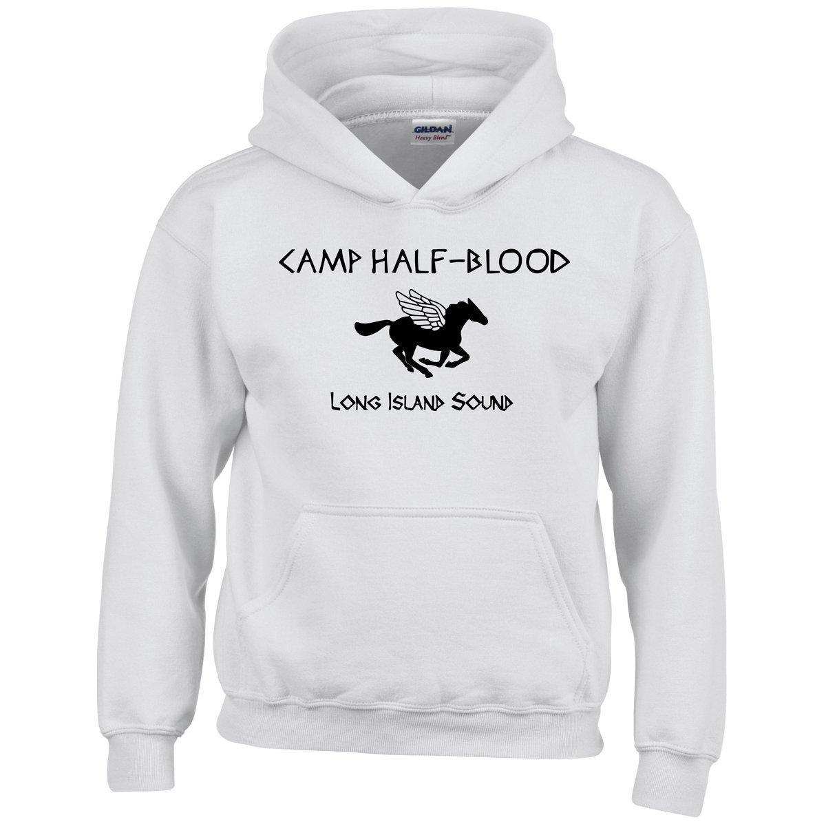 Camp Half Blood Inspired Percy Jackson World Book Day Boys Hoodies Long Island Sound