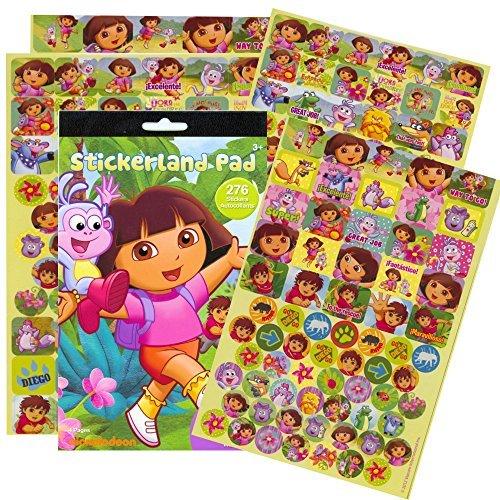 [Dora the Explorer Reward Stickers - 276 Stickers! by Stickerland] (Dora Diego And Boots)