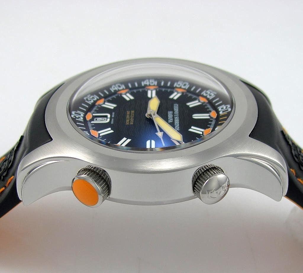 Cuervo Y Sobrinos 2806.1 na Hombres del reloj de buceo Buceador robusto fabricado en Suiza automático: Cuervo Y Sobrinos: Amazon.es: Relojes