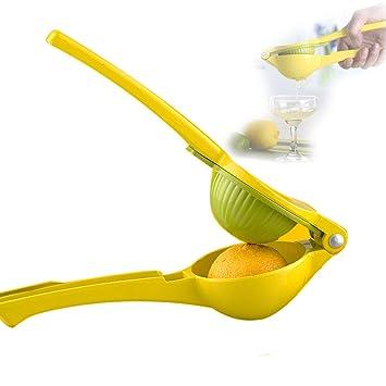 Lima Limón Exprimidor Manual exprimidor exprimidor manual de casa limón carpeta: Amazon.es: Hogar
