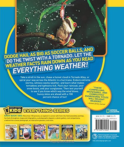 Weather For Kids Fun Facts for Kids  Childrens Earth Sciences Edition