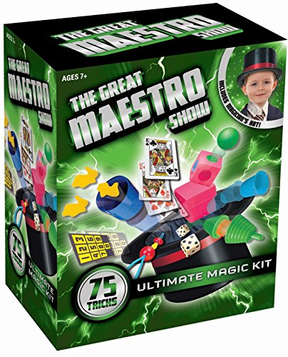 AMAV Toys Magic Hat - The Great Maestro Show 75 Tricks Kit ()