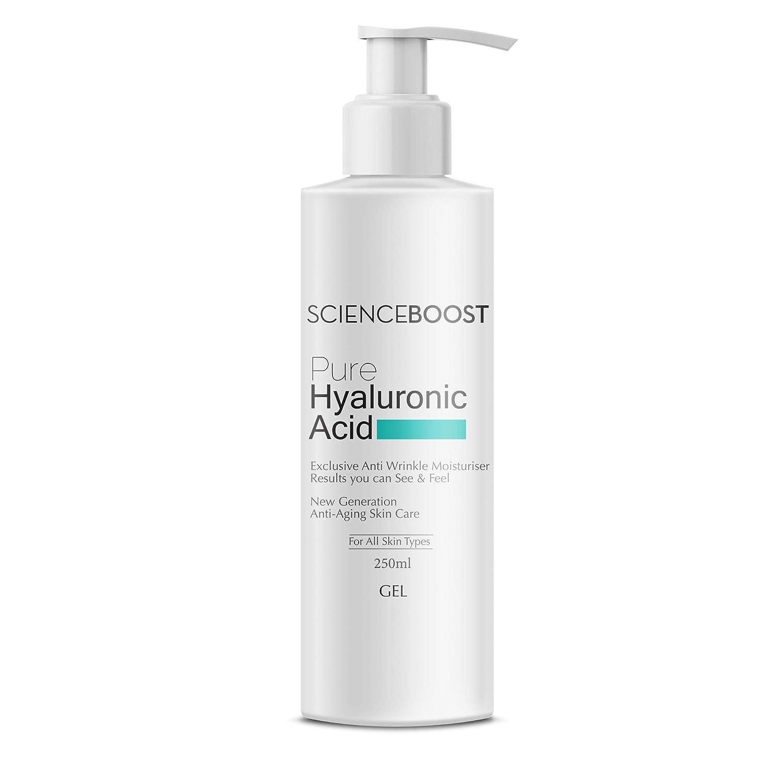 Puro Gel/Suero de Ácido Hialurónico 250ml/8.4Fl Oz * * EXCLUSIVA anti arrugas anti envejecimiento Crema Hidratante * * Ultra alto contenido de ácido hialurónico SCIENCEBOOST