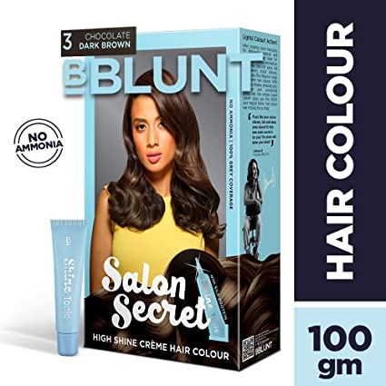 Buy Bblunt Salon Secret High Shine Creme Hair Colour Chocolate Dark
