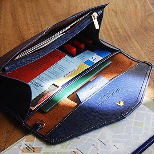 Purses Holder Wallets Phone Passport Female Case Capacity Long Large Coin Women 01Black Feminina Purse wPXFq1dX
