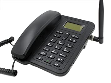Topsma GSM Wireless Quadband Telephones Sim Card Desk Phone for Home