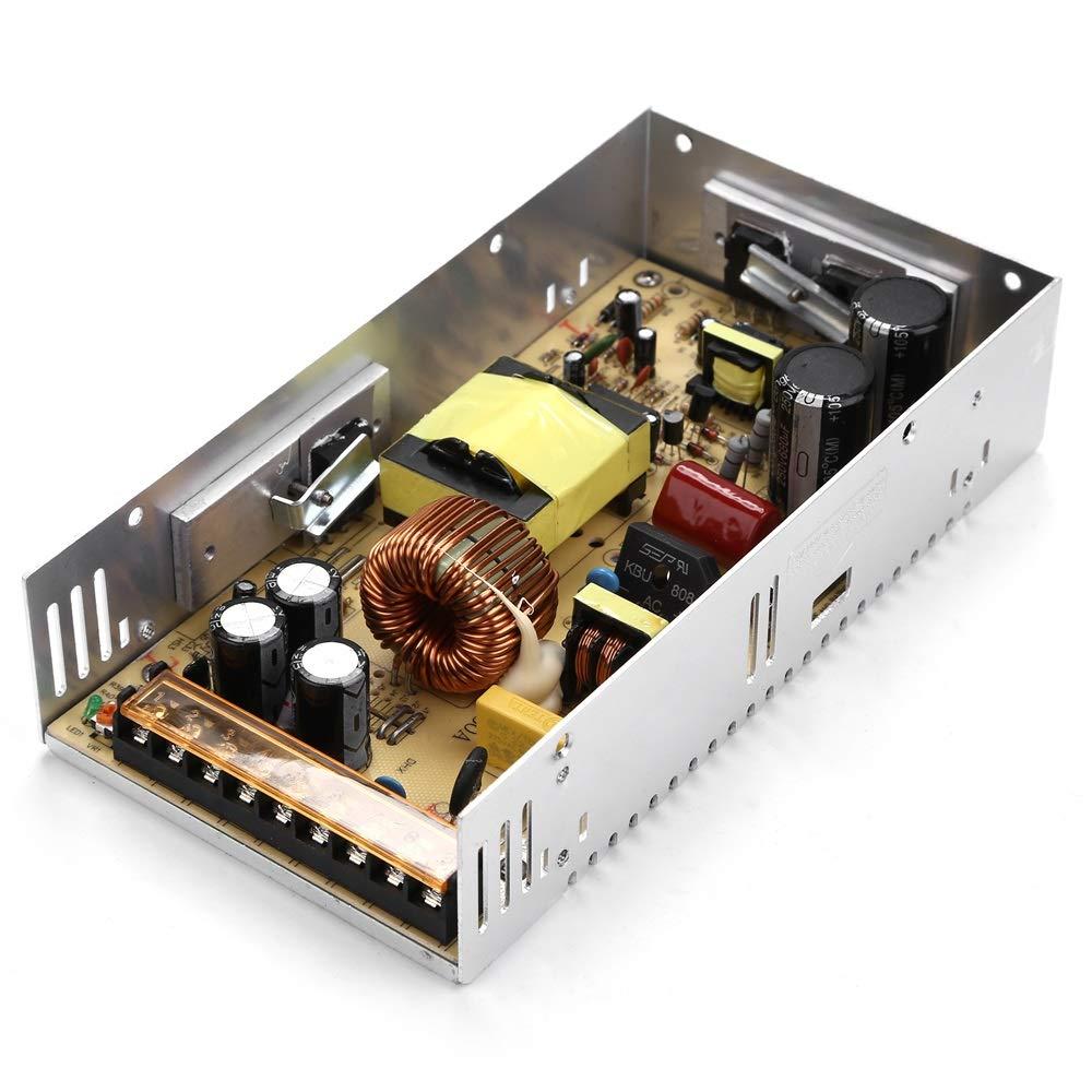 Fuente de alimentaci/ón para la Tira de LED S-360-24 Fuente de alimentaci/ón de 24V 24V 15A 360W Transformador de Potencia Transformador de Voltaje