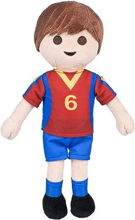 playbyplay PLAYMOBIL - Peluche Exclusivo Jugador de Fútbol España - 30 Cm: Amazon.es: Juguetes y juegos