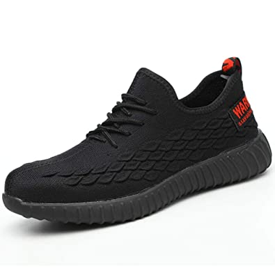 Fashion Womens Mens Steel Toe Cap Work Trainers Safety Boots Shoes Lightweight