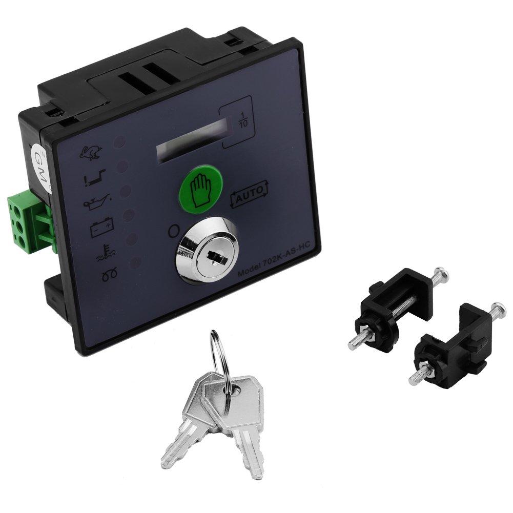 Walfront 702K-AS-HC Automatic Start Diesel Generator Controller Board Monitor Panel
