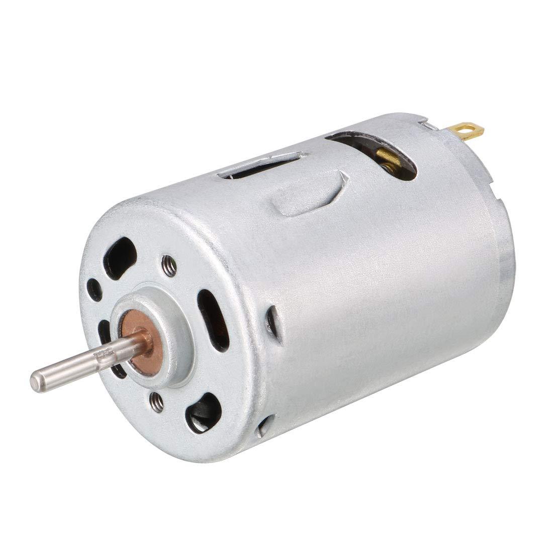 TOPINCN Micro Gear Motor High Torque DC 12V 400RPM N20 16mm Shaft M4x55mm Screw Reducer Reduction Motor with Gear Box