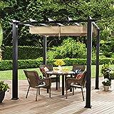 Better Homes and Gardens Meritmoor Aluminum and Steel Pergola