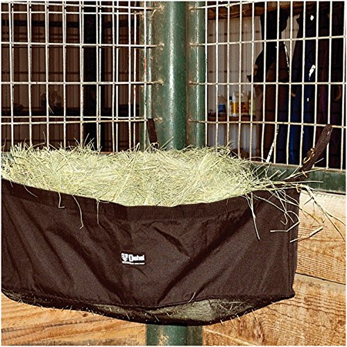 Cashel Corner Feeder Holds Hay for Horses, Fits the Corner of Horse Stalls and Trailers, Large
