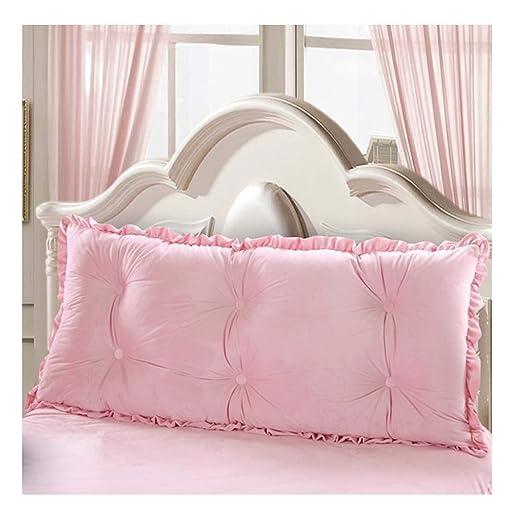 ALXLX Suave Cama Grande Respaldo Dormitorio para Niñas Cama ...