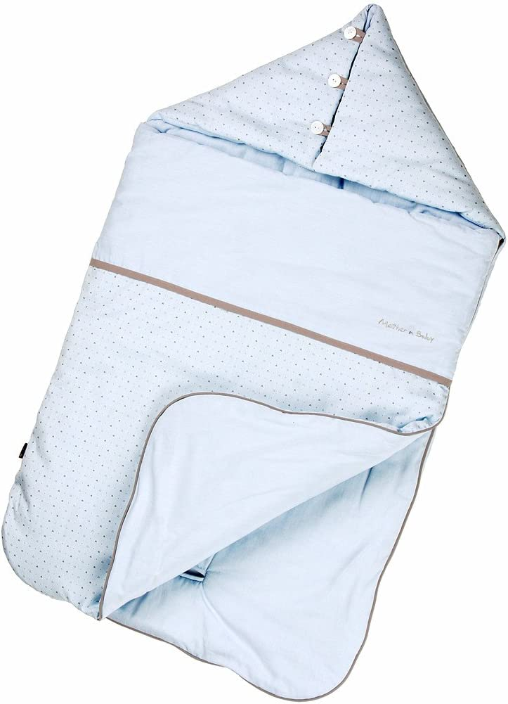 Vine Baby Sleeping Bag Newborn Footmuff for Pushchair 0-6 Months,Blue