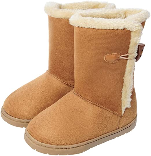 Kids Winter Warm Ankle Boots