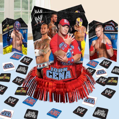 WWE Table Decorating Kit Party Accessory, Health Care Stuffs