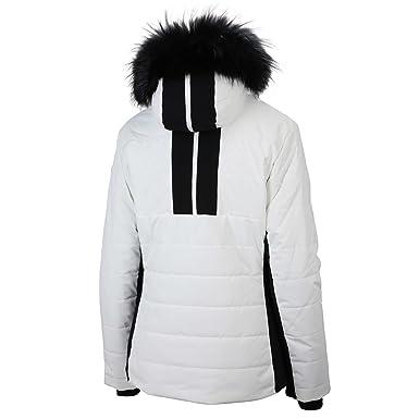 meilleures baskets 354eb 46638 FUSALP Doudoune Femme Moora Fur - Poudre: Amazon.fr ...