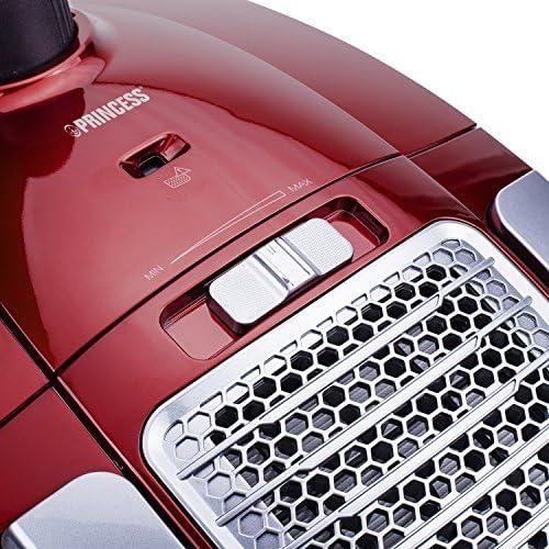 Aspirateur Princes 333001 Power Deluxe – Aspirateur avec sac à poussière – Classe AAA