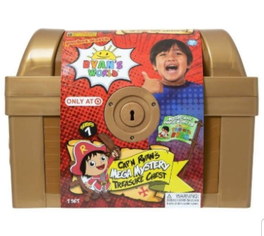 Ryans World Exclusive Gold Mega Mystery Surprise Treasure Chest by RYAN'S WORLD (Image #2)