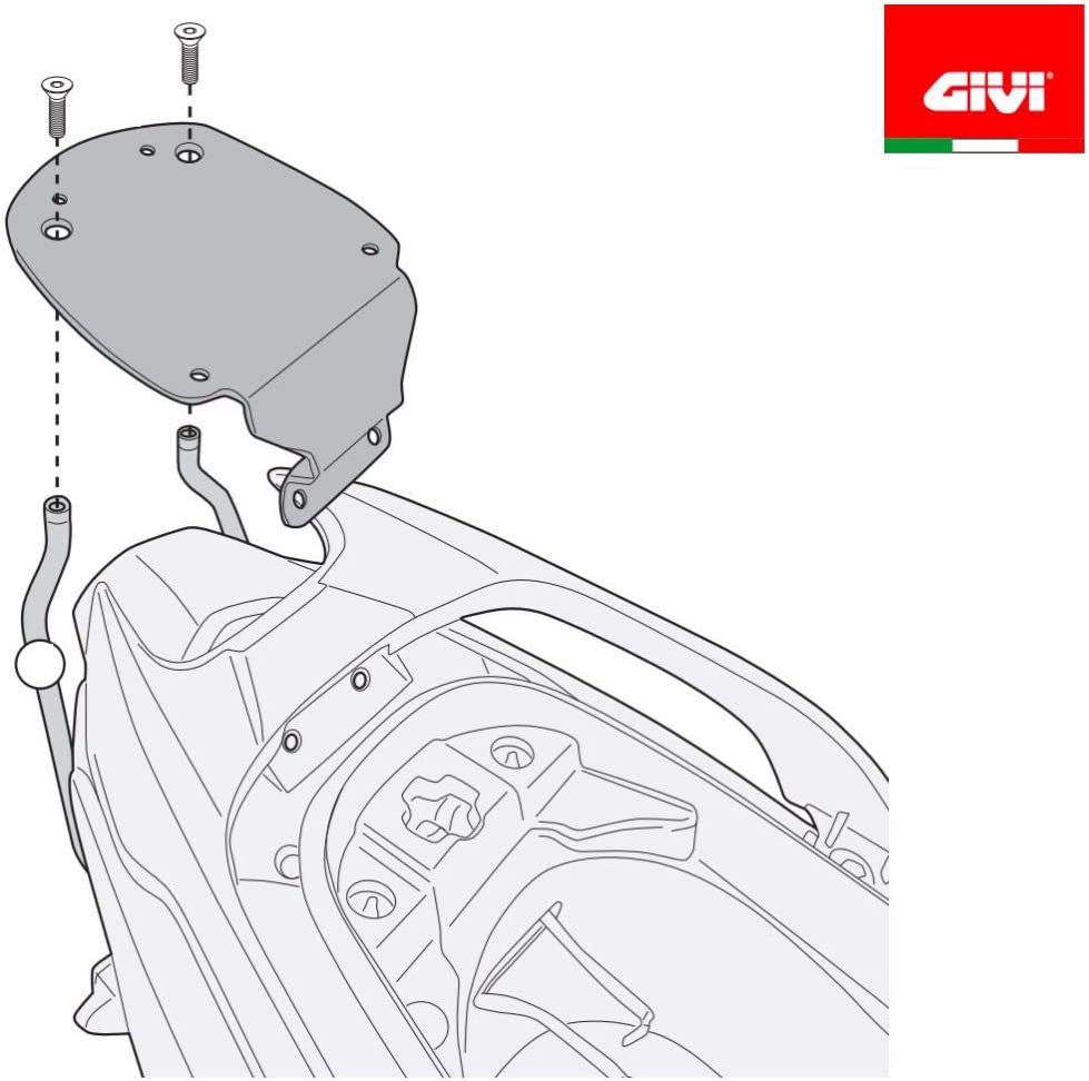 18 GIVI SR6111 Gep/äcktr/äger hinten MONOLOCK Kymco G-Dink 300