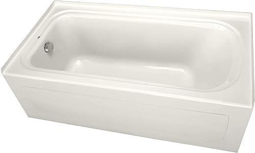 PROFLO PFS6032LSKBS PROFLO PFS6032LSK 60 x 32 Soaking Bath Tub with Integral Skirt and Left Hand D
