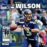 Seattle Seahawks Russell Wilson Wall Calendar