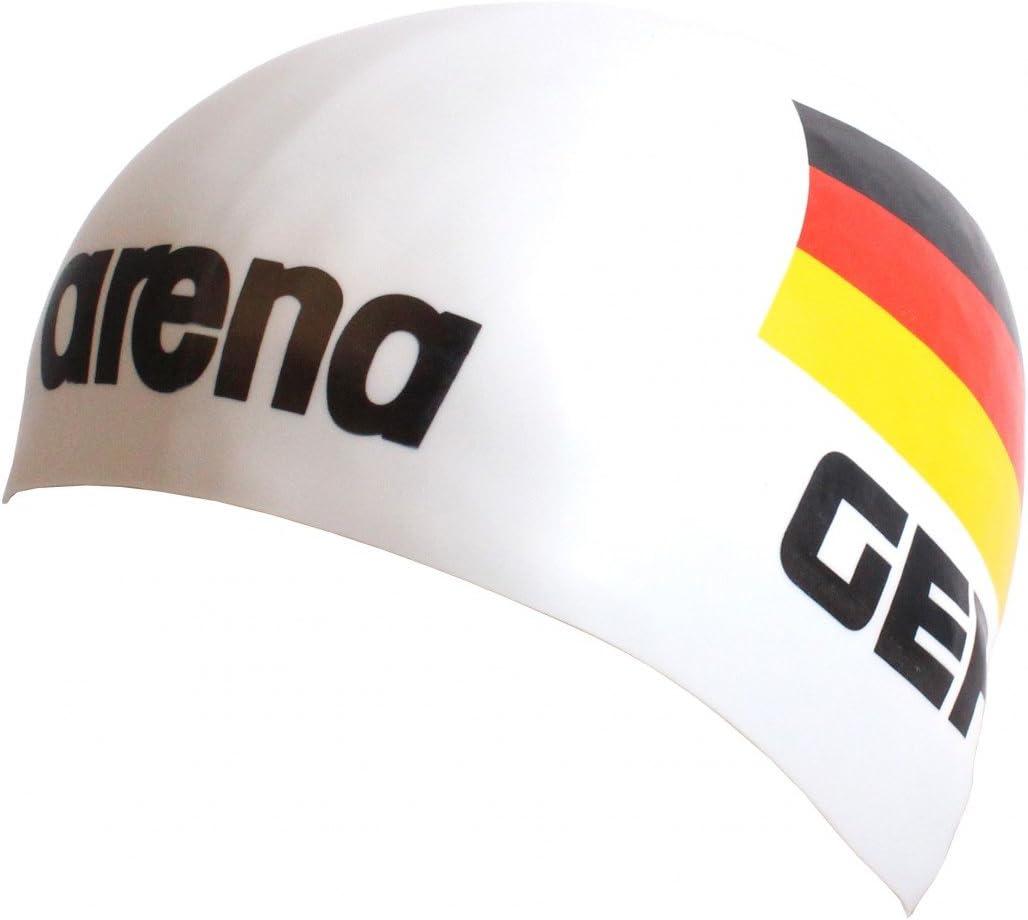 Arena 3d silicona Gorro – Alemania, color weiß, tamaño talla única ...