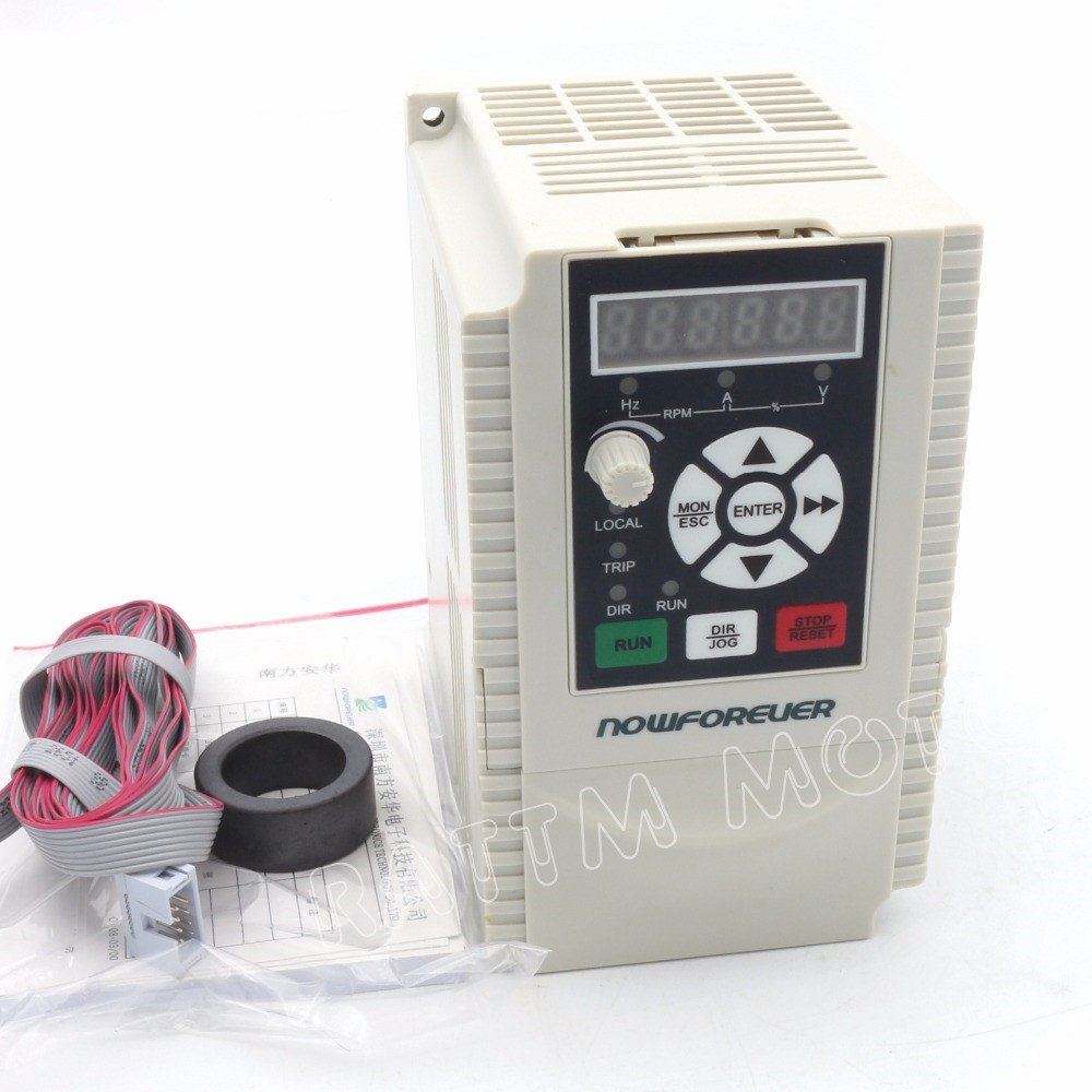2.2kw VFD 220V Variable Frequency Drive VFD Inverter 1HP or 3HP Input 3HP frequency inverter for CNC Router Engraving Machines Spindle motor speed control