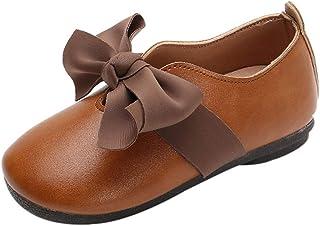 Moonuy Toddler Filles Bottes Bébé Enfants Bowknot Patchwork Chaussures Bout Rond Chaussures De Danse Enfants Filles Princesse Chaussures Chaussures Simples 1-6 Ans