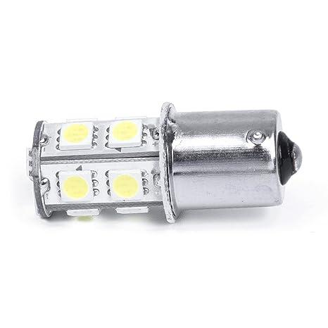 Ndier Bombillas LED de Repuesto para automóviles, 1156 13 5050 SMD Bombillas LED para automóvil
