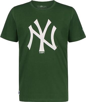 New Era MLB Seasonal Team Logo York Yankees Camiseta: Amazon.es: Ropa y accesorios