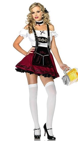 Disfraz de cerveza para mujer, 4 piezas, para fiestas de Halloween ...