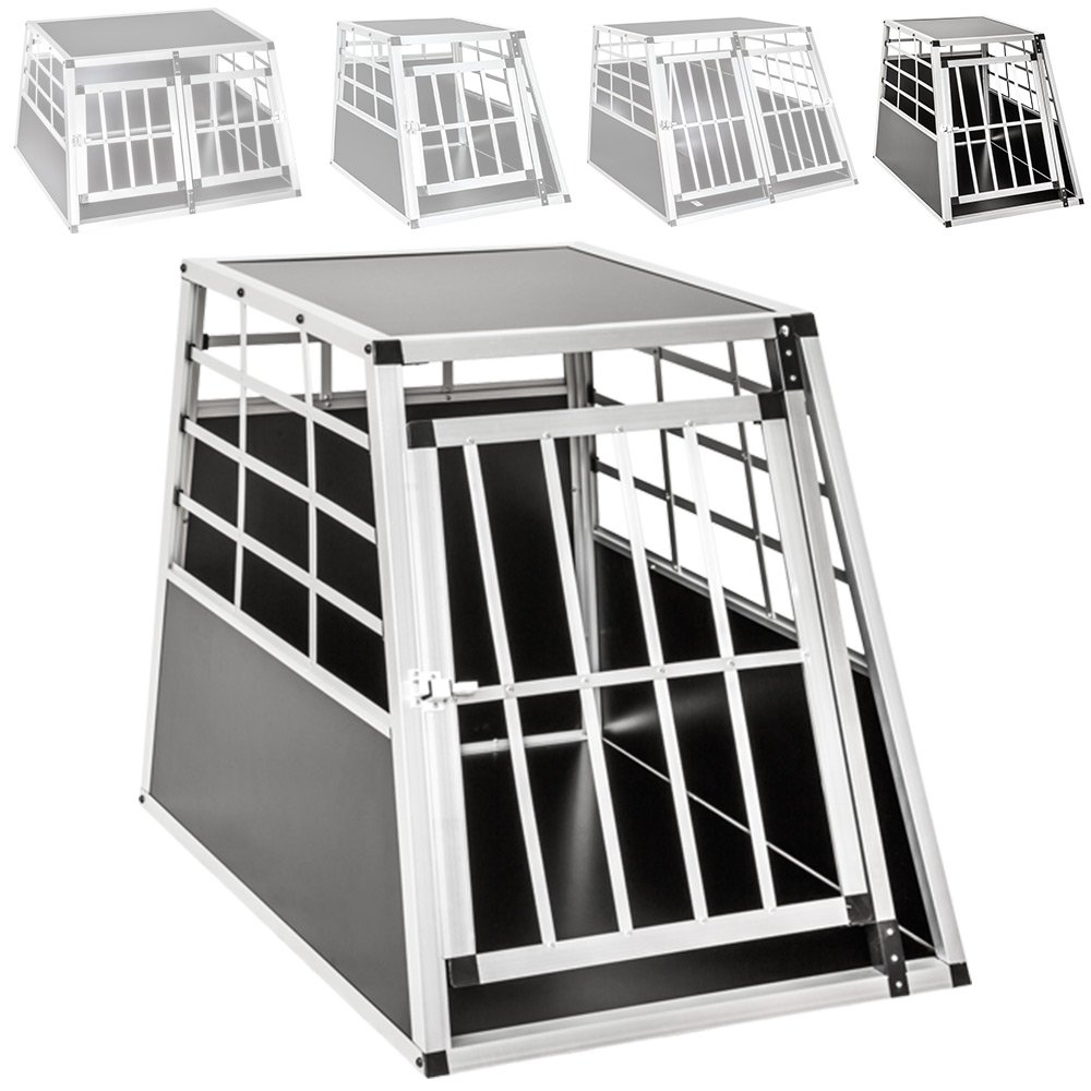 TecTake Alu Hundetransportbox -diverse Größen- Image