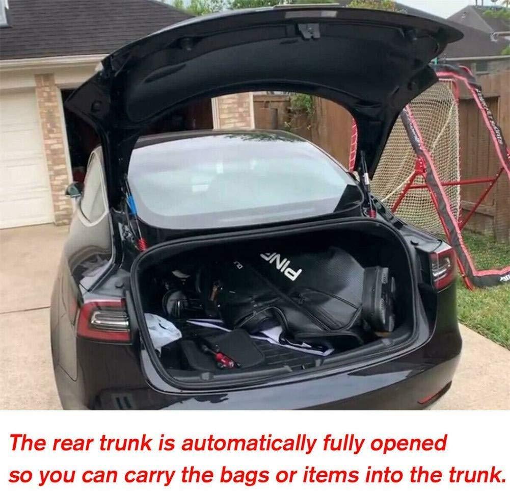 Adatto per Tesla Model 3 Steel Nero Lypum Sollevatore Automatico per Bagagliaio Posteriore con Molla e rondella in Acciaio Inox